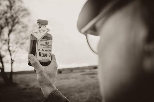 Heide-Gin gegens Licht - feinste Qualität