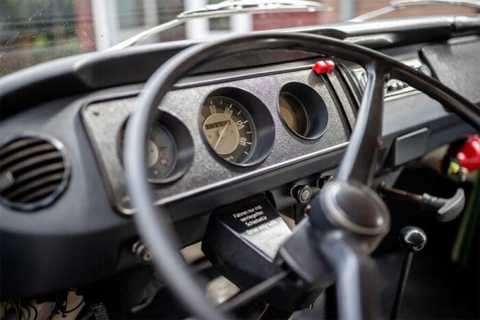 Cockpit unserer T2-Bullis